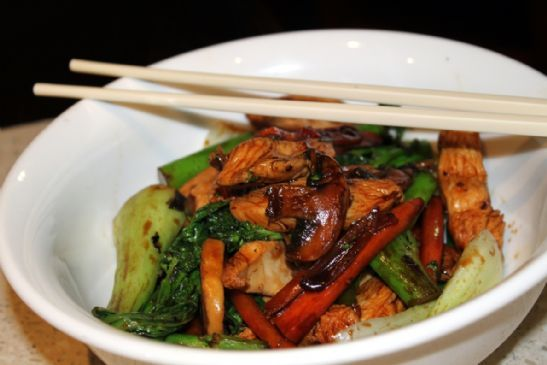 photo Beef, Mushroom and Green Bean Stir-Fry