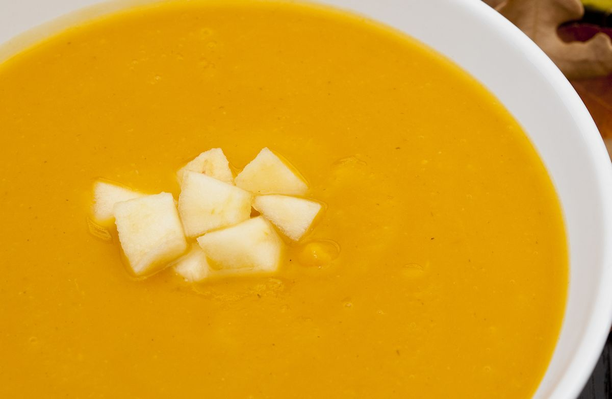 photo Curried Carrot and Ginger Soup
