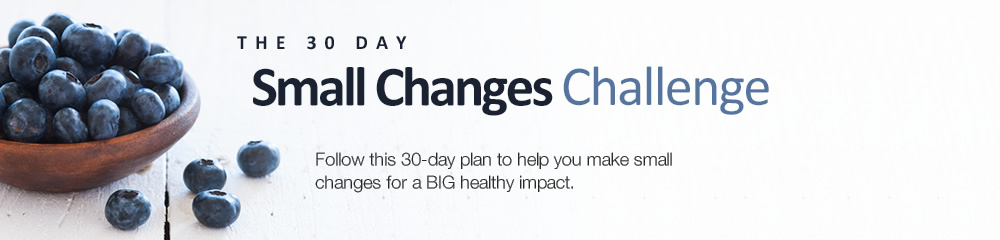 The 30-Day Small Changes Challenge