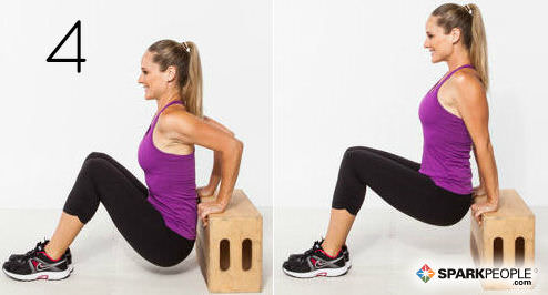 10 Exercises That Target The Triceps Sparkpeople