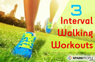 Walking Workouts with Intervals