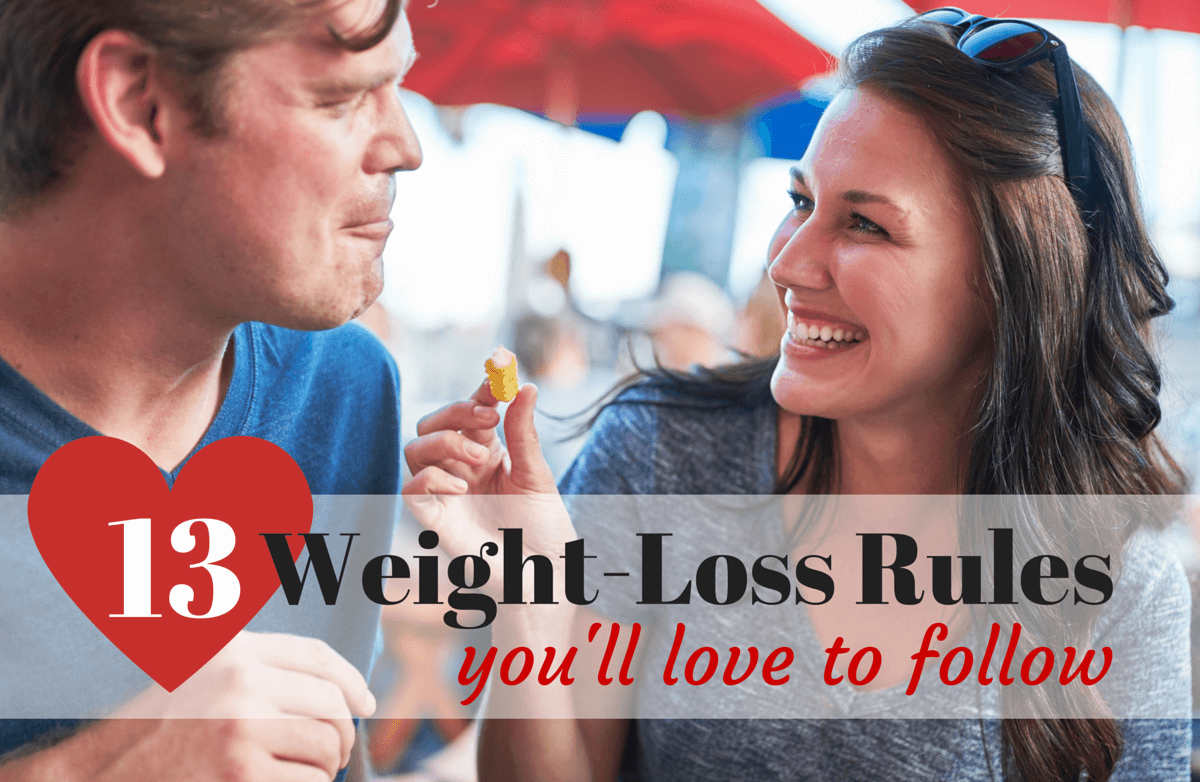 13 Weight-Loss Rules You'll Love to Follow