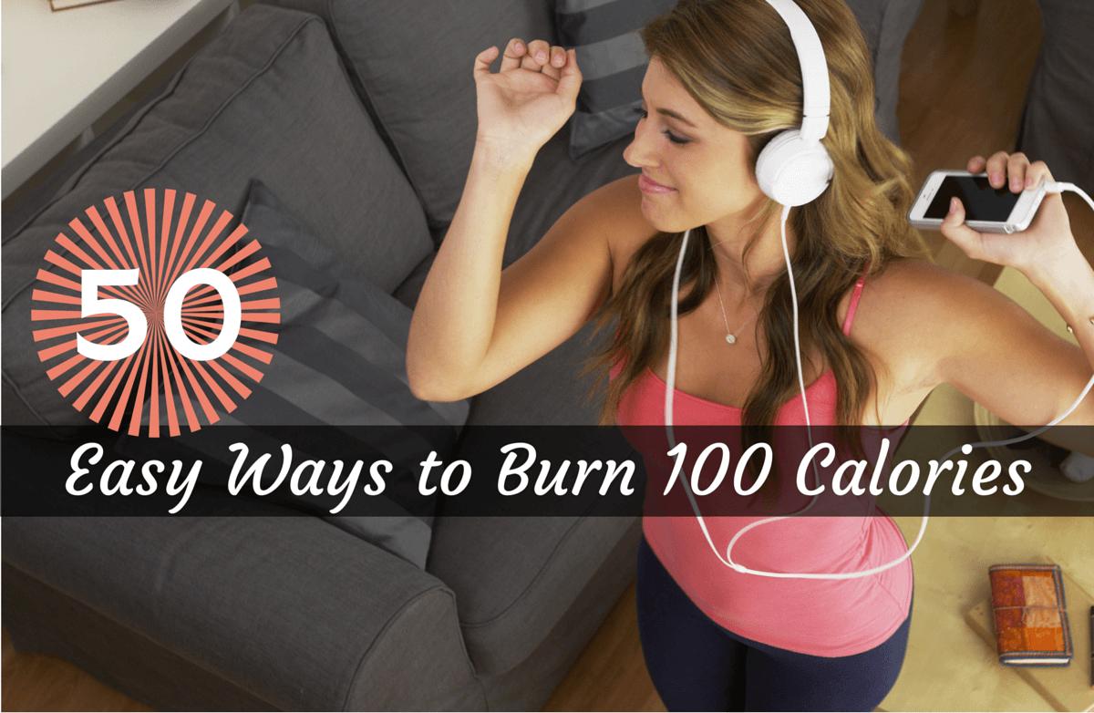 50 Easy Ways to Burn 100 Calories