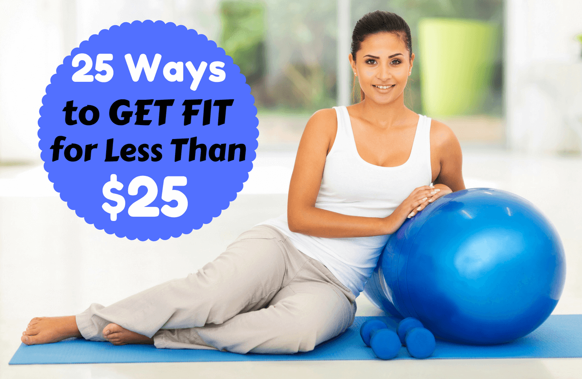 24 Ways to Get Fit for Less Than $25