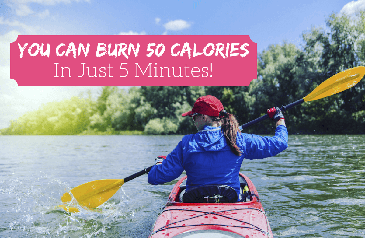 50 Easy Ways to Burn 50 Calories in 5 Minutes