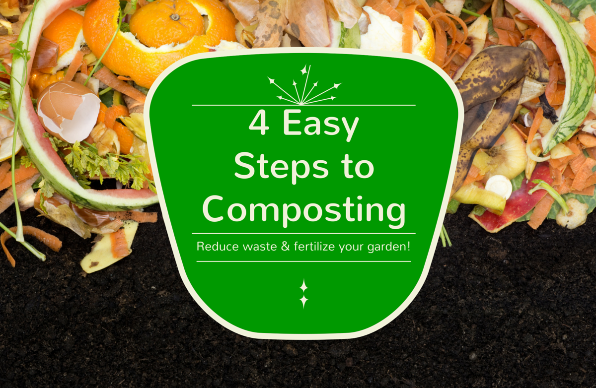 A Beginner's Guide to Composting: 4 Steps to Reduce Waste and Fertilize Your Garden