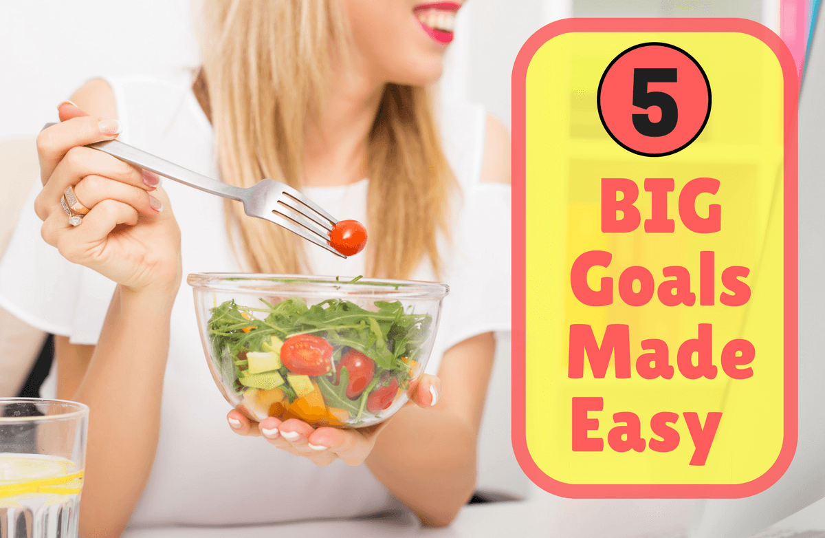 How to Achieve 5 Major Health Goals This Year