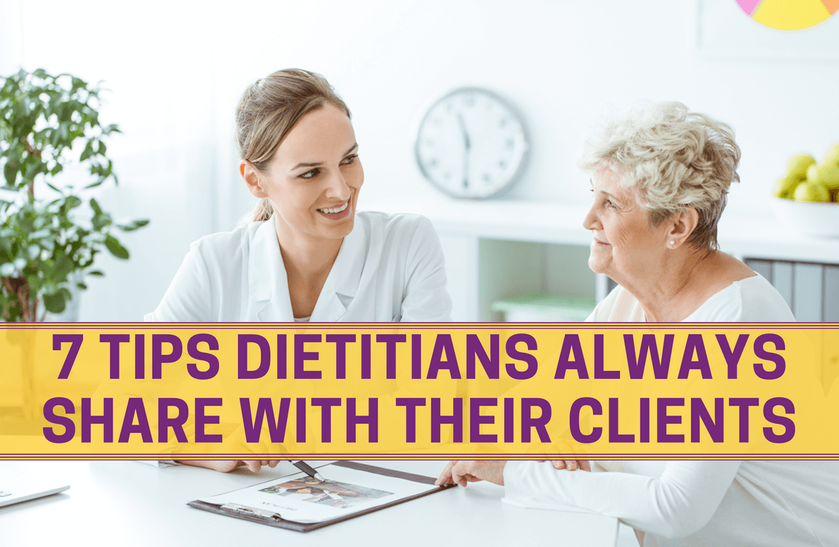 7 Ways Dietitians Help Their Clients Lose Weight & Keep It Off