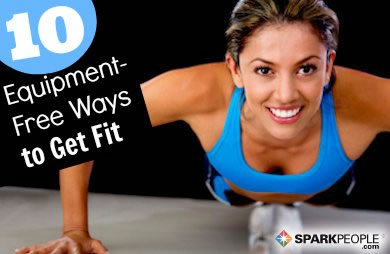 10 Ways to Get Fit Without Fancy Equipment