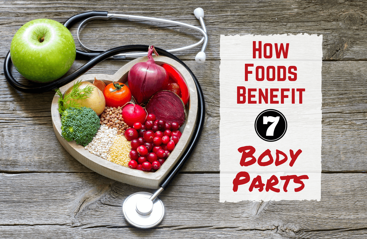 Food as Medicine: Can Certain Foods Benefit Certain Body Parts?