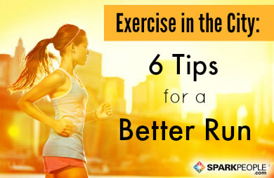 Walking and Running Tips for City Dwellers