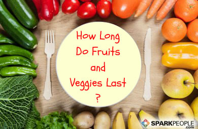 The Shelf Life of Fruits and Vegetables