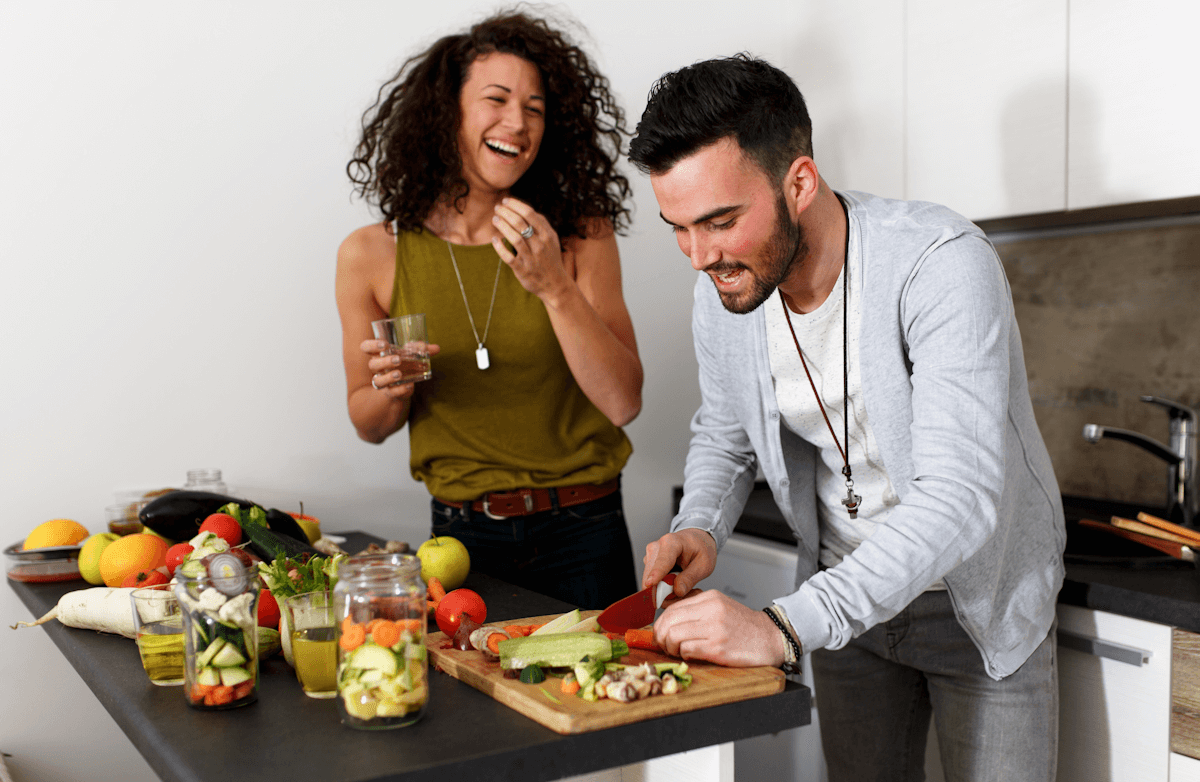 6 Ways to Help Your Partner Eat Healthier Without Being Pushy