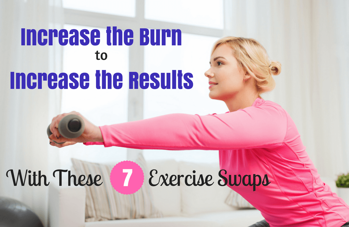 7 Simple Exercise Swaps to Burn More Calories