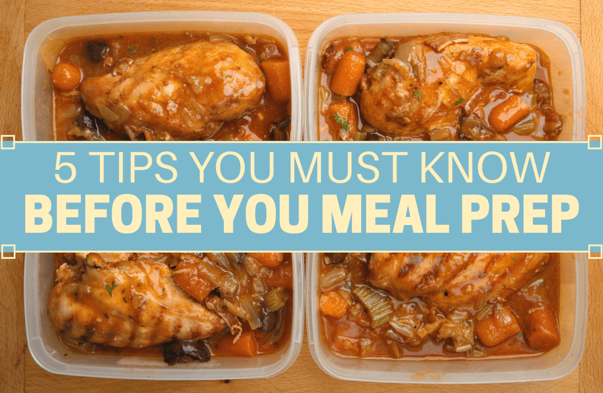 Are the Meals You Prep Safe to Eat?