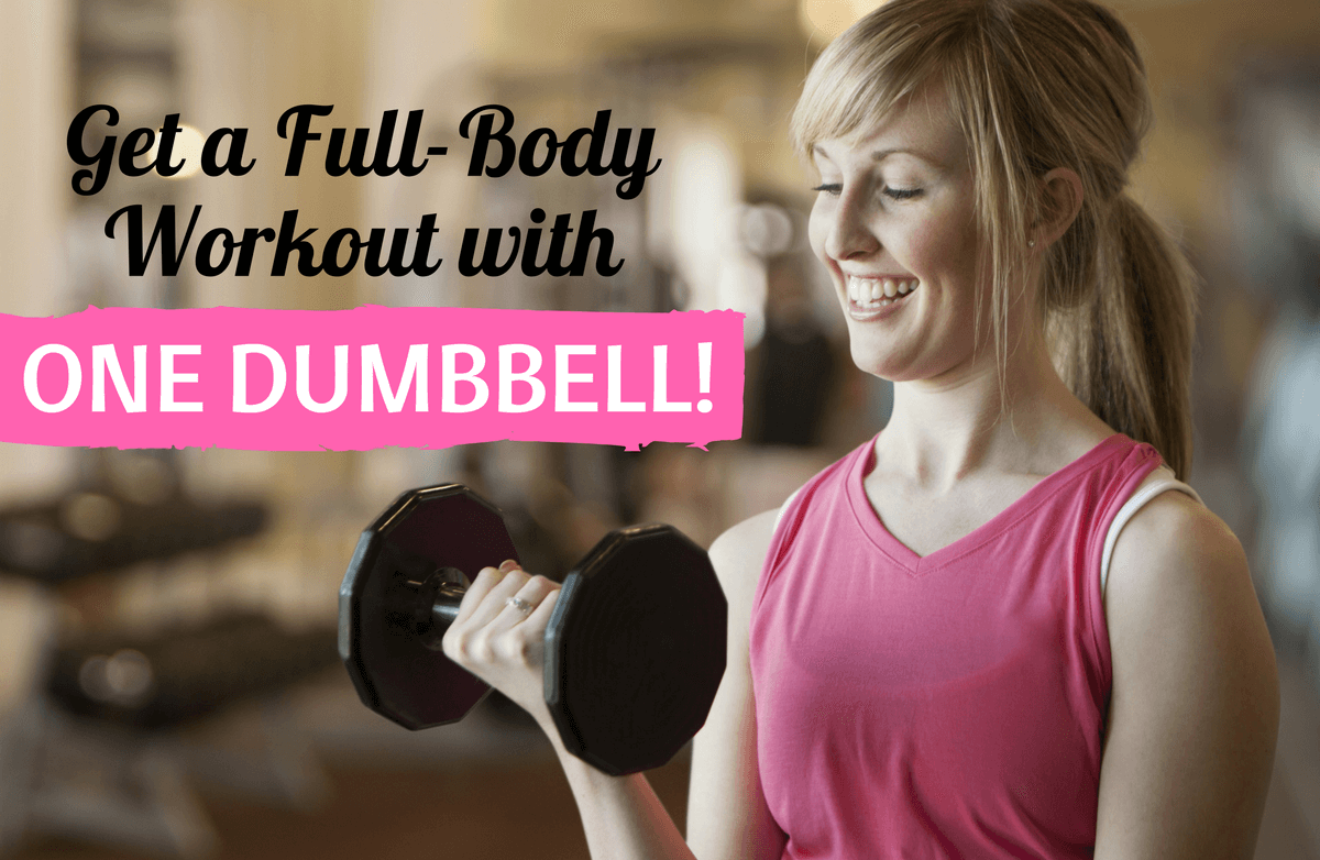 10 Effective Exercises You Can Do with a Single Dumbbell