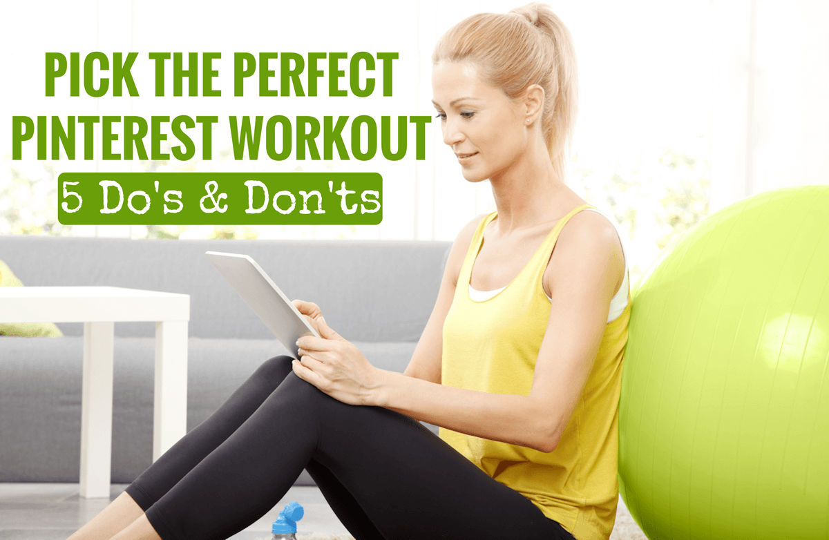 Can You Spot a Bad Workout on Pinterest?