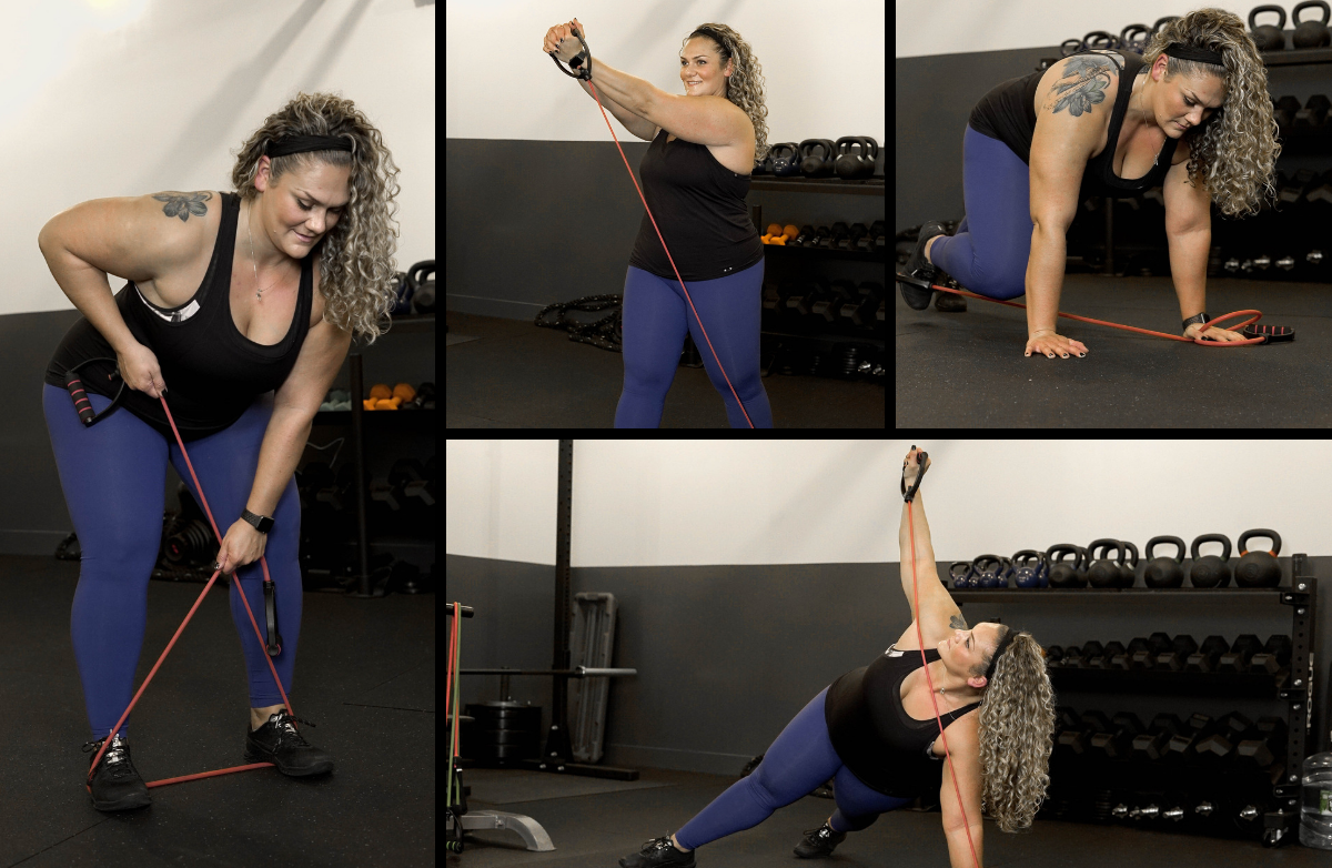 8 Effective Exercises You Can Do With 1 Resistance Band