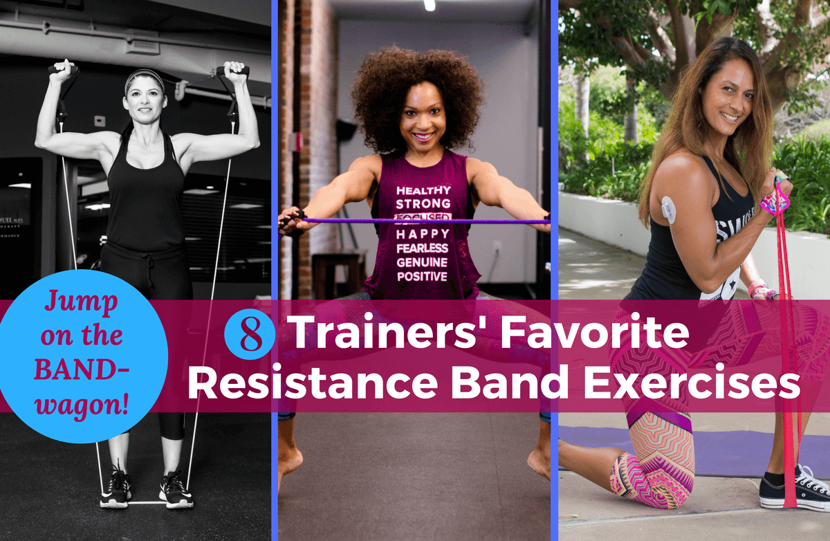 8 Trainers Share Their Favorite Resistance Band Exercises