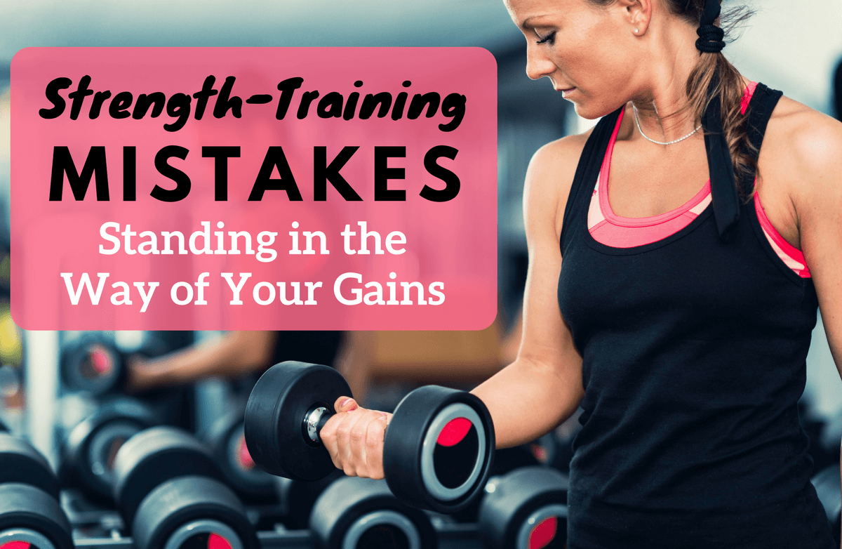 9 Reasons You're Not Getting Results from Strength Training