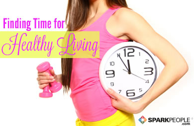 Finding Time for Healthy Living