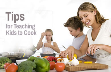 Tips, Tricks and Treats to Teach Kids to Cook