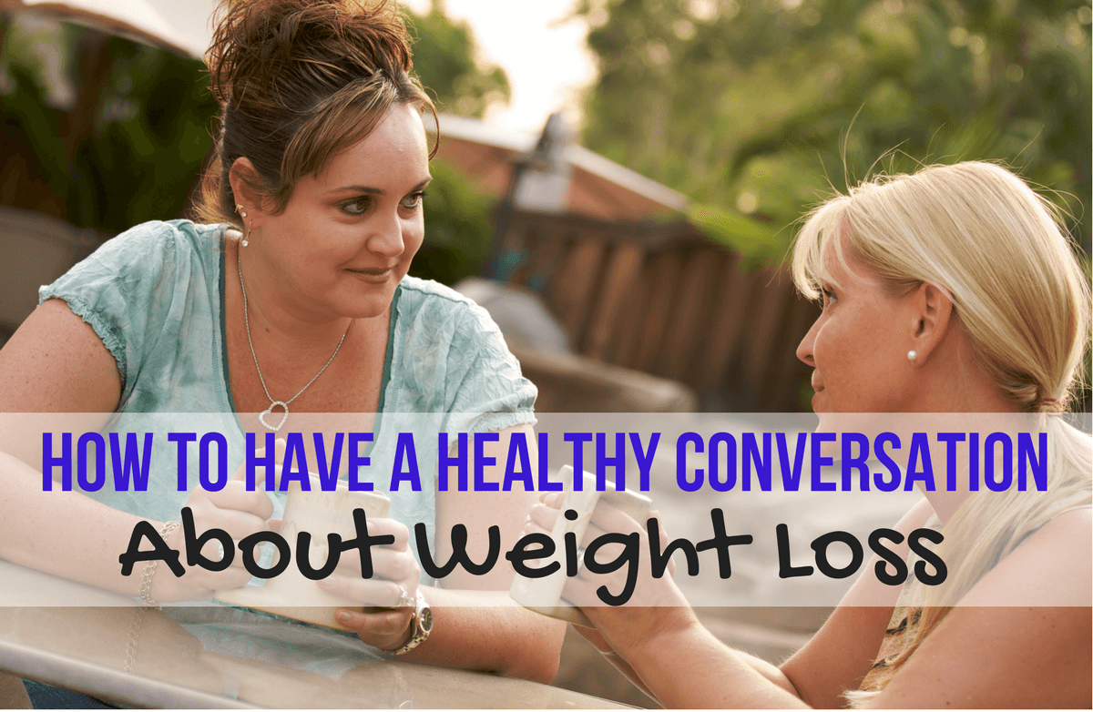 Is There a Polite Way to Tell Someone They Need to Lose Weight?