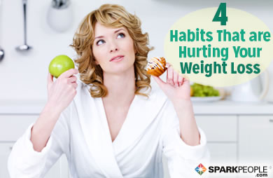 4 Mindless Habits That Are Hurting Your Weight Loss