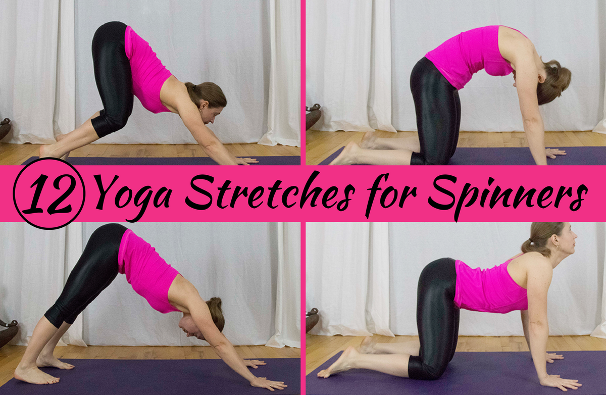 12 Yoga Stretches Every Spin Enthusiast Needs
