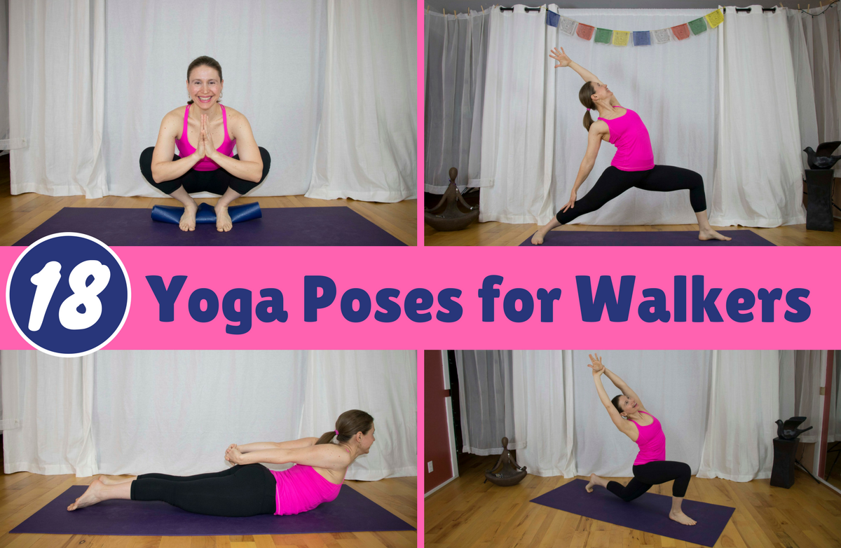 18 Essential Yoga Stretches for Walkers