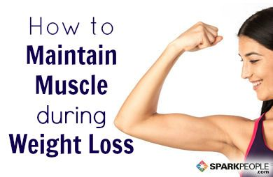 how to prevent muscle loss during dieting