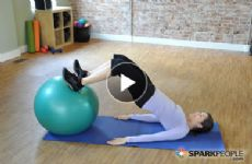 picture about Printable Exercise Ball Workouts identified as Printable 15-Second Ball Work out SparkPeople
