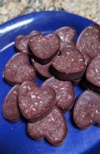 PB Chocolate Keto Fat bomb with coconut