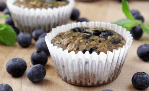 100-Calorie Blueberry Muffins