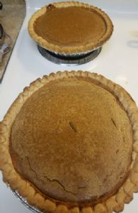 Sweet Potato Pies (made with canned yams)