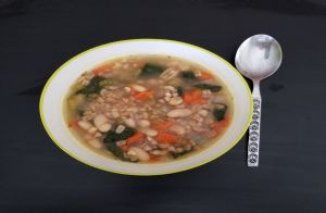 Tuscan Bean and Farro Soup