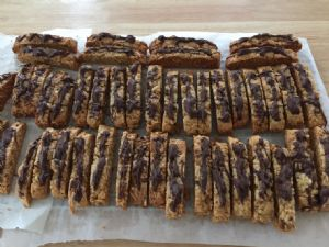 Almond, Anise and Olive Oil Biscotti