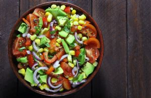 Avocado, Tomato and Corn Salad