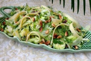Brussel Sprouts, Fennel and Apple Salad