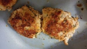 Canned Chicken Cakes