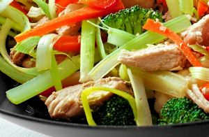 Chicken-Veggie Stir Fry