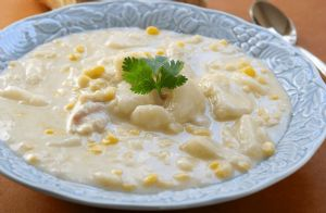 Chicken and Corn Chowder RECIPE