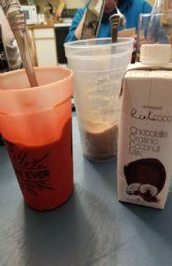 Chocolate coconut smoothie