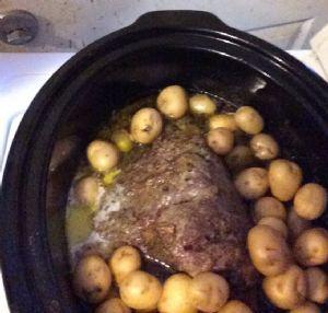 Crockpot Beef Rump Roast with Veggies