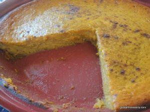 Dairy & Gluten Free Impossible Pumpkin Pie