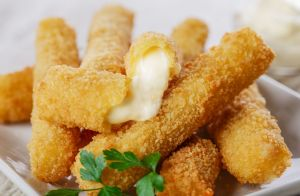Faux Fried Cheese Sticks
