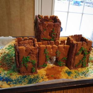 Gingerbread Castle Facade