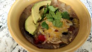 Green Chili Chicken Enchilada Verde Crock Pot Soup