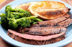 Grilled Garlic Citrus Flank Steak