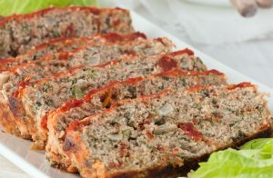 Ground Turkey Microwave Meatloaf